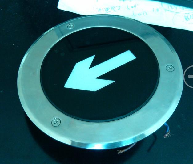 圆形地埋式疏散指示灯0501